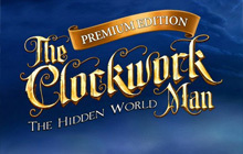 The Clockwork Man: The Hidden World Badge