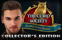The Curio Society: Eclipse Over Mesina Collector's Edition Badge