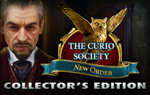 The Curio Society: New Order Collector's Edition Badge