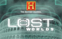The History Channel Lost Worlds Badge