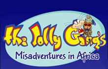 The Jolly Gang's Misadventures in Africa Badge