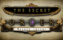 The Secret Order: Masked Intent Badge