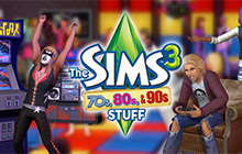 The Sims 3 70s, 80s, & 90s Stuff pack Badge