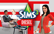 The Sims 3 Diesel Stuff Badge