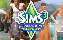 The Sims 3 Generations Expansion Pack Badge