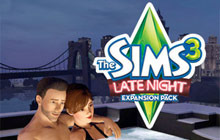 The Sims 3: Late Night Expansion Pack Badge