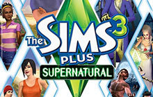 The Sims 3 Plus Supernatural Badge