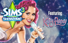 The Sims 3 Showtime Katy Perry Collector's Edition Badge