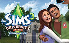 The Sims 3 University Life Badge