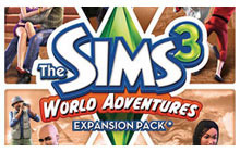 The Sims 3 World Adventures Expansion Pack Badge