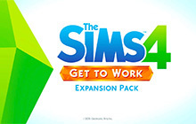 The Sims 4 Get to Work Badge