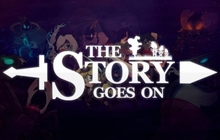 The Story Goes On Badge