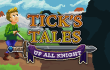 Tick's Tales: Up All Knight Badge