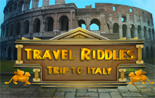 Travel Riddles: Trip To Italy Badge