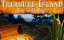 Treasure Island - The Gold Bug Badge