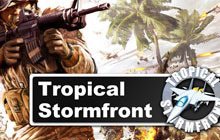 Tropical Stormfront Badge