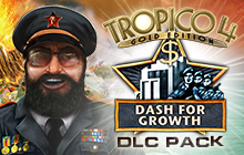 Tropico 4: Dash for Growth DLC Badge