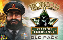 Tropico 4: State of Emergency DLC Badge