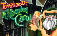 Twisted: A Haunted Carol Badge