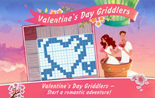 Valentines Day Griddlers Badge