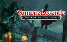Vampire Legends: The Count of New Orleans Badge