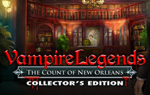 Vampire Legends: The Count of New Orleans Collector's Edition Badge