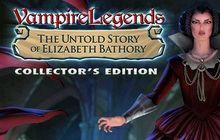 Vampire Legends: The Untold Story of Elizabeth Bathory Collector's Edition Badge