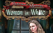Victorian Mysteries: Woman in White Badge