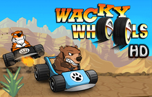 Wacky Wheels HD Badge