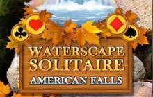 Waterscape Solitaire: American Falls Badge