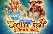Weather Lord: Royal Holidays Collector's Edition Badge