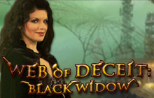 Web of Deceit: Black Widow Badge