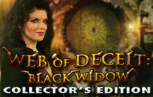 Web of Deceit: Black Widow Collector's Edition Badge