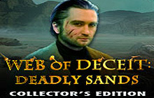 Web of Deceit: Deadly Sands Collector's Edition Badge