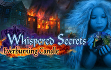 Whispered Secrets: Everburning Candle Badge