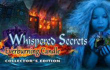 Whispered Secrets: Everburning Candle Collector's Edition Badge