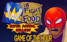 Will Fight for Food: Super Actual Sellout: Game of the Hour Badge