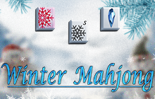 Winter Mahjong Badge