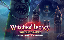 Witches' Legacy: Covered by the Night Collector's Edition Badge