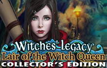 Witches' Legacy: Lair of the Witch Queen Collector's Edition Badge