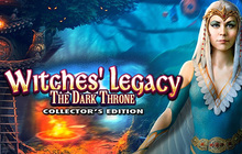 Witches' Legacy: The Dark Throne Collector's Edition Badge