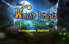 Witch's Pranks: Frog's Fortune Collector's Edition Badge