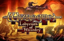 Wizrogue - Labyrinth of Wizardry Badge