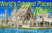 World's Greatest Places Mosaics 2 Badge