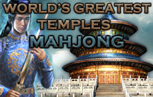 World's Greatest Temples Mahjong Badge