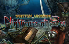 Written Legends: Nightmare at Sea Badge