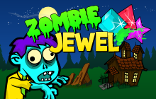 Zombie Jewel Badge