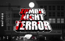 Zombie Night Terror Badge