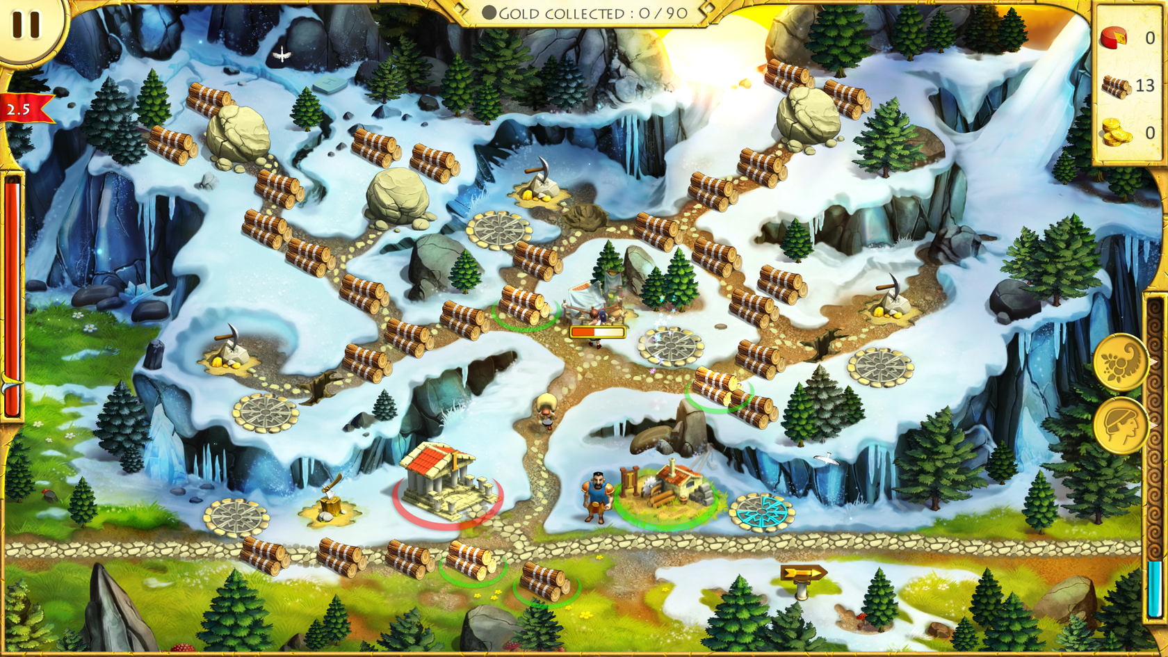 the 12 labours of hercules 50 games like 12 labours of hercules daily generated by our specialised ai comparing over 40 000 video games across all platforms this list includes roads.