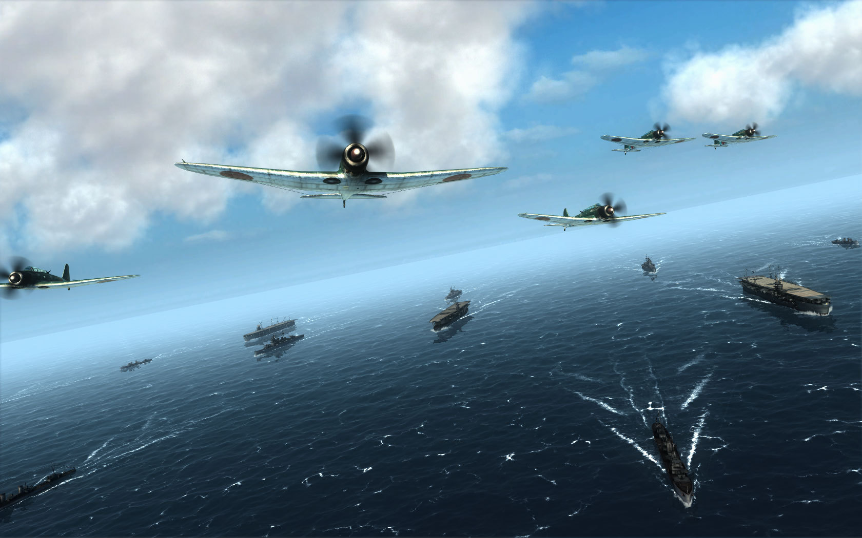 Air Conflicts: Pacific Carriers   macgamestore.com